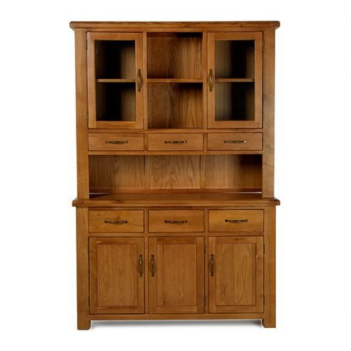 Bradley Oak Medium Dresser